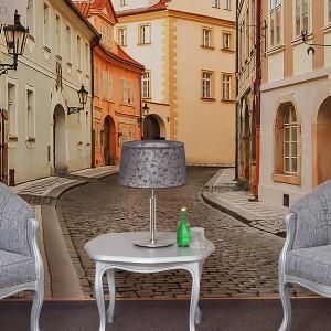 Улица в Миловице