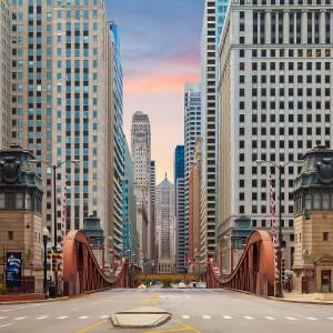 Мост в Чикаго
