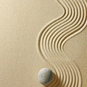 Камень на песке